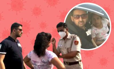 FI-Delhi-woman-covid curfew