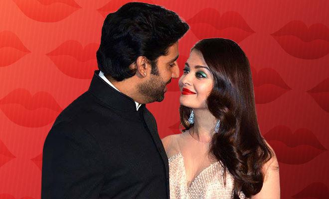 Abhishek Aishwarya kiss