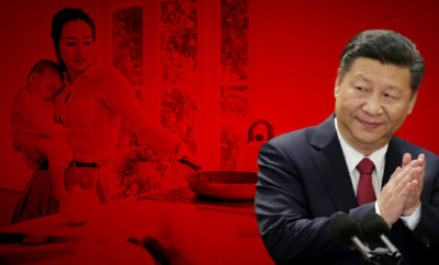 Under-Xi-Jinping,-the-Communist-Party-has-brought-back-talk-of-family-values-and-women's-importance-as-caretakers,