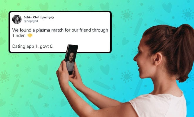 FI-Woman-Allegedly-Finds-Plasma-Donor-For-Her-Covid-Positive-Friend-On-Tinder