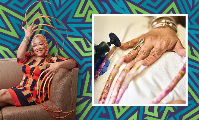 FI-Woman-cuts-world's-longest-fingernails-after-30-yrs_-Guinness-shares-video