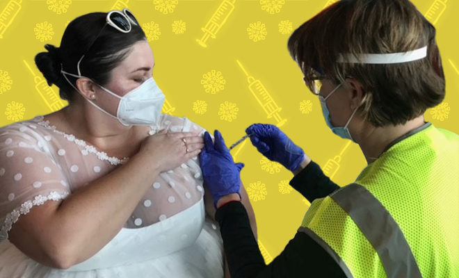 FI-Woman-wears-wedding-gown-to-get-vaccine-after-Covid-19-cancelled-her-reception