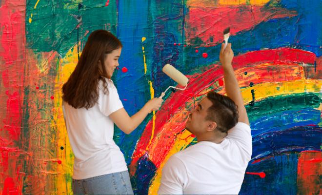 Painter couple