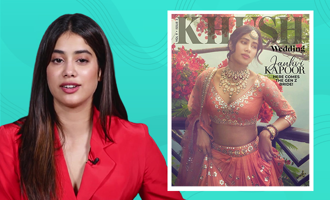 Janhvi Kapoor Posts Another Cover Photo Amid The Second Wave, Says It Was Pre-Committed. Nonsense