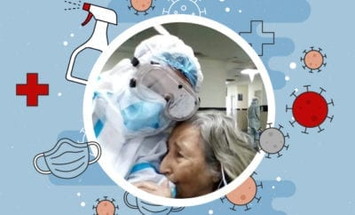 Photo-of-Elderly-Woman-Hugging-Doctor-After-Recovering-From-Covid-19-Goes-Viral