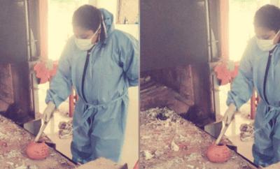 Muslim Woman Cremator Kerala