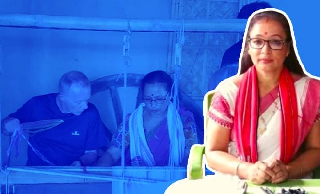 Assam-woman-collects-plastic-waste,-turns-it-into-traditional-handloom-products