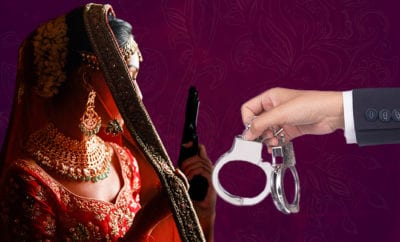 Bride-marks-entry-on-stage-by-firing-in-air-in-UP's-Pratapgarh,-case-lodged