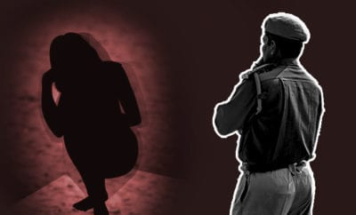 Police man-strips-married-woman-for-not-wearing-mask,-rapes-her-multiple-times