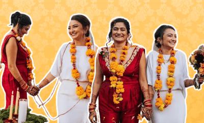 Same-sex two-brides-from-their-romantic-desi-wedding