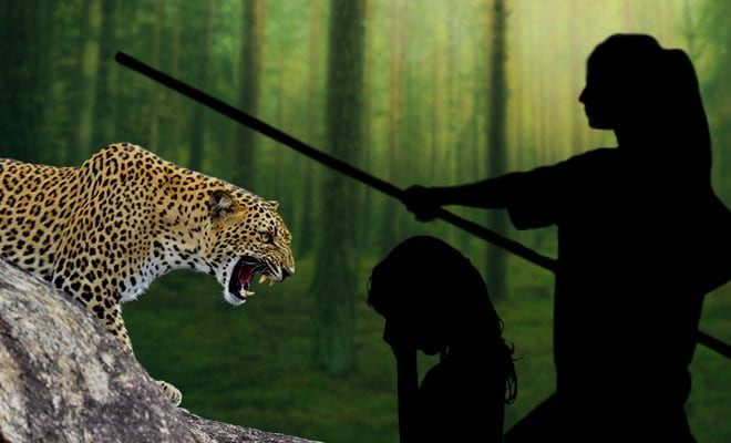 Maharashtra-Woman-Fights-Leopard-With-Bamboo-Stick-To-Save-Daughter
