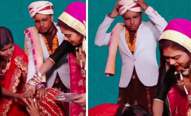Scared-Groom-Runs-Away-After-Bride-Falls-Unconscious-During-Sindoor-Ceremony