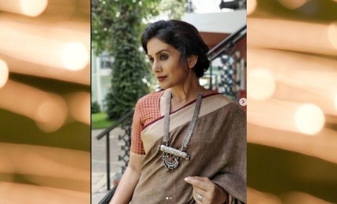 Sonali Kulkarni skin colour
