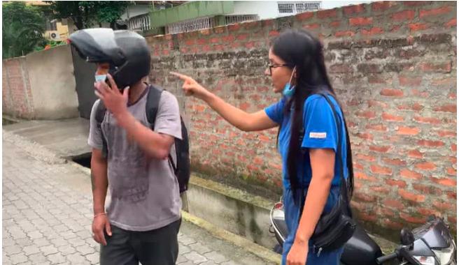 Assam woman groped