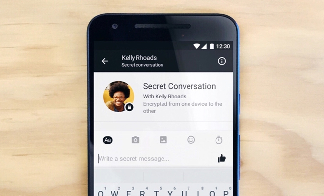 FB Messenger End-to-End Encryptions with Secret Conversations_Hauterfly