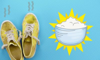Use baking soda to deodorise shoes_Style Hack_Hauterfly