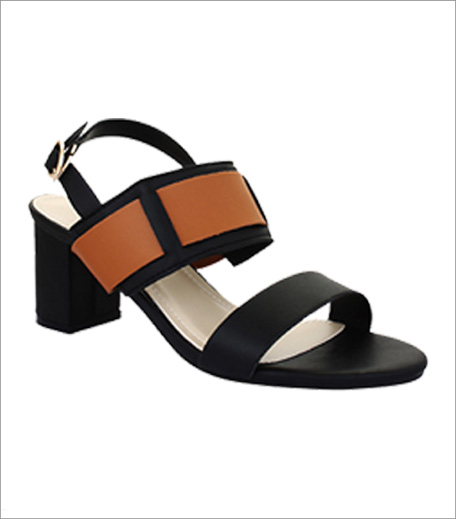 20 Dresses Black Block Heel Sandals_Hauterfly