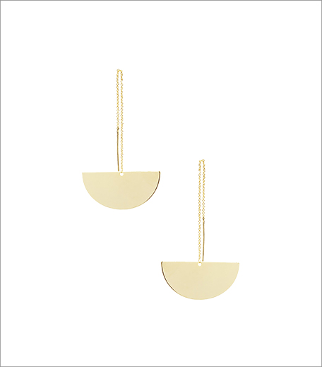 20 Dresses The Gold Balancing Act Needle Earrings_Hauterfly