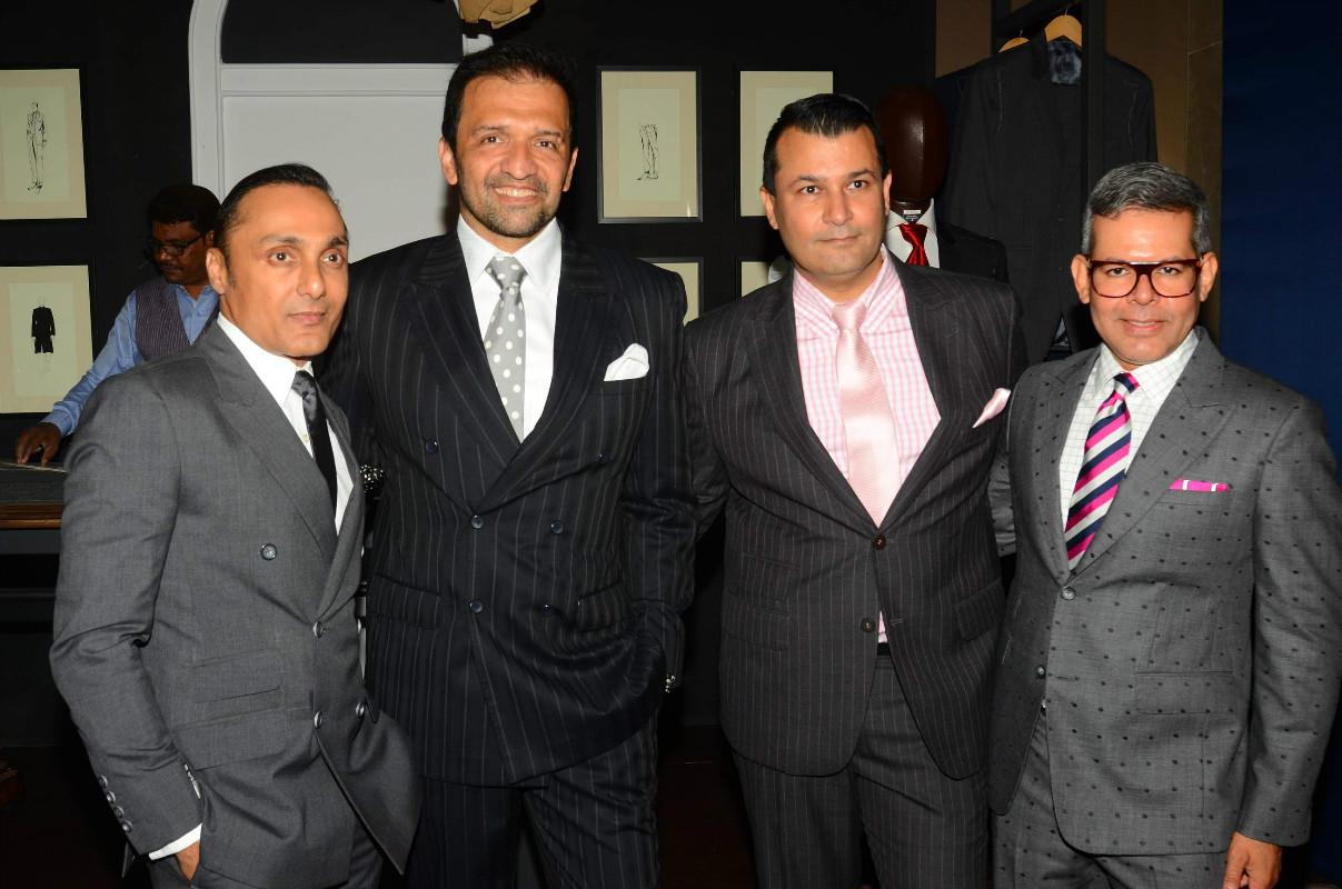 Bikram Saluja, , Arzan Khambatta and Atul Kasbekar