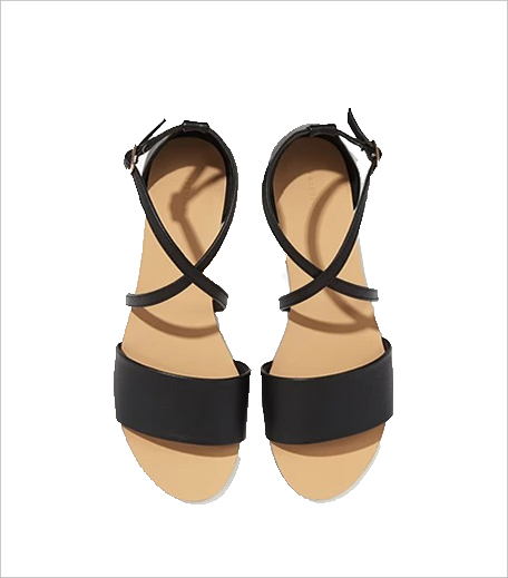 Forever21 Faux Leather Crisscross-Strap Sandals_Hauterfly