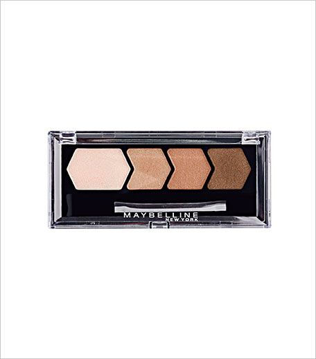 Maybelline Diamond Glow Eye Shadow Quad in Copper Brown_Hauterfly