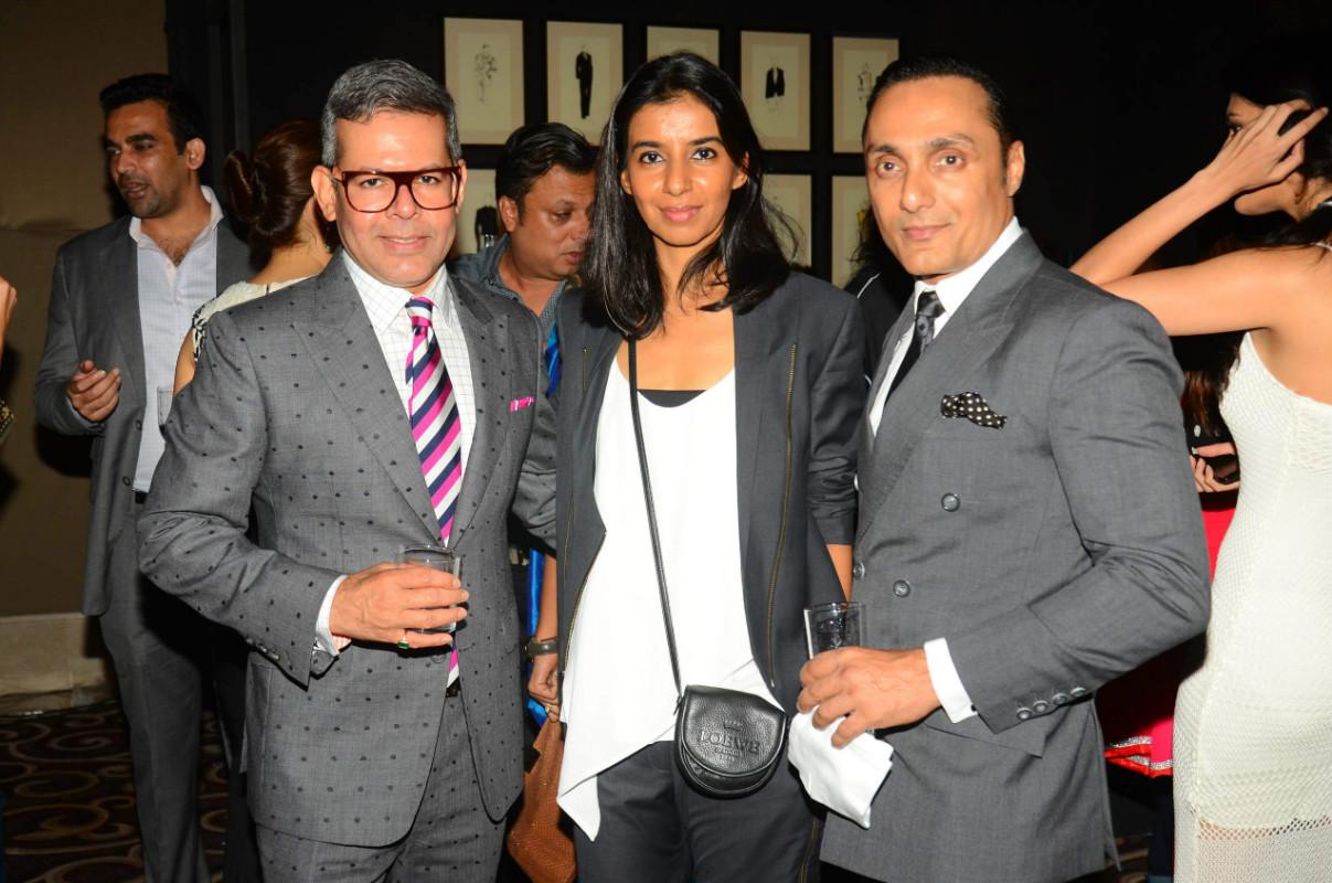 Vikram Raizada, Ekta Rajani and Rahul Bose
