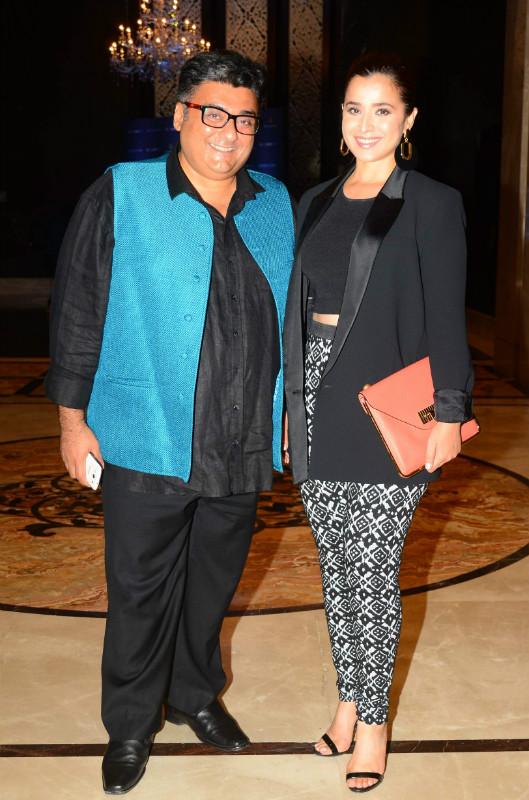 Farhad Samar and Simone Singh