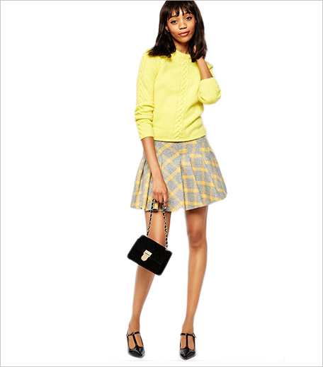ASOS Paul and Joe Sister Patineuz Pleated Skirt In Tartan Check_Hauterfly