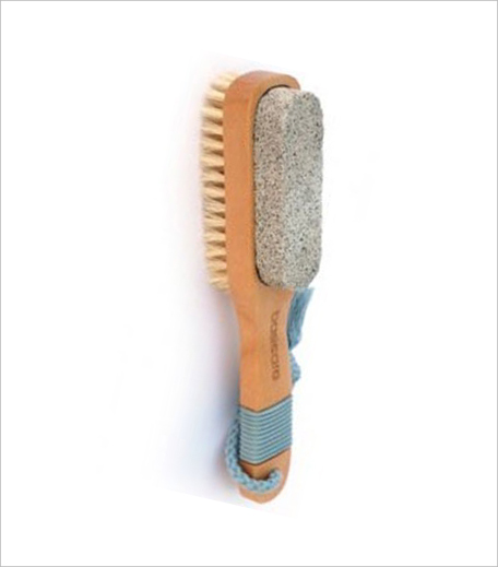 Basicare Pedicure Brush With Pumice Stone_Hauterfly