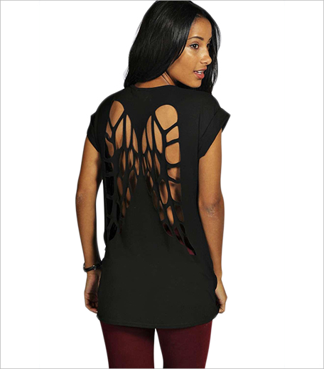 FLORENCE HALLOWEEN CUT OUT WING TEE_hAUTERFLY