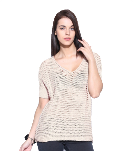 GAS Casual Short Sleeve Self Design Women's Top_Hauterfly