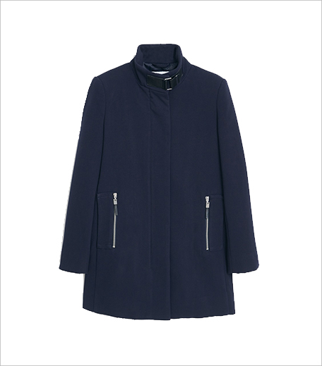 Hauterfly_Mango Funnel Neck Coat