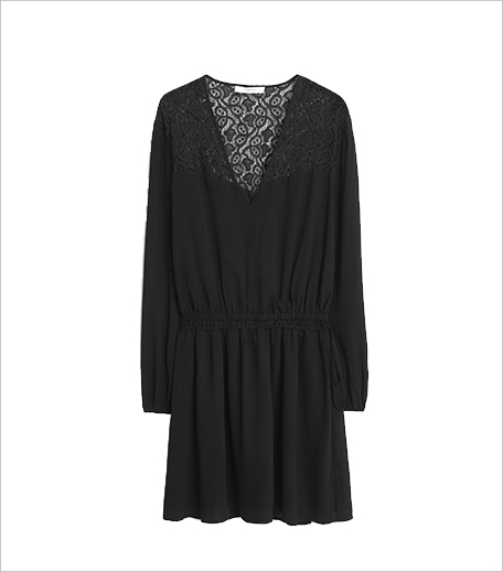 Hauterfly_Mango Lace Panel Dress