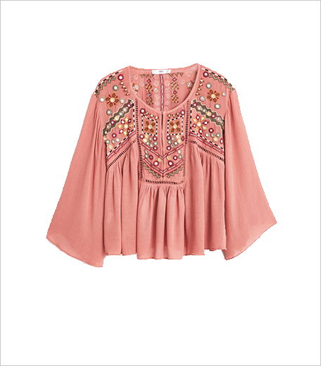 Hauterfly_Mango embroidered Boho Blouse