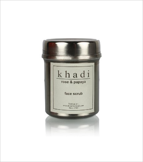 Khadi Rose and Papaya Face Scrub_Hauterfly
