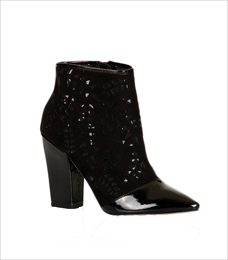 Little Mistress Laser Cut Out Heeled Boots_Hauterfly