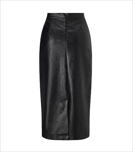 Lost Ink Faux Leather Pencil Skirt_Hauterfly
