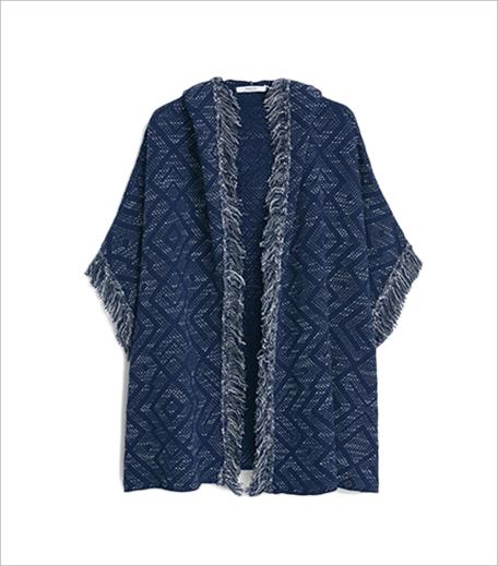 Mango Jacquard cotton cape_Hauterfly1
