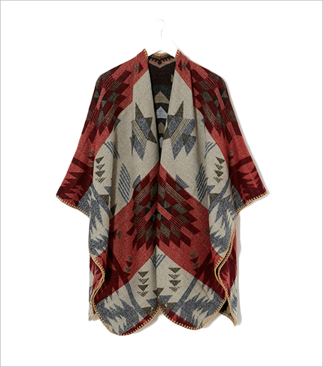 New Look Aztec Wrap Cape_Hauterfly