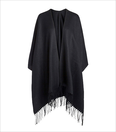Pieces Wintershop Fringe Poncho Cape_Hauterfly