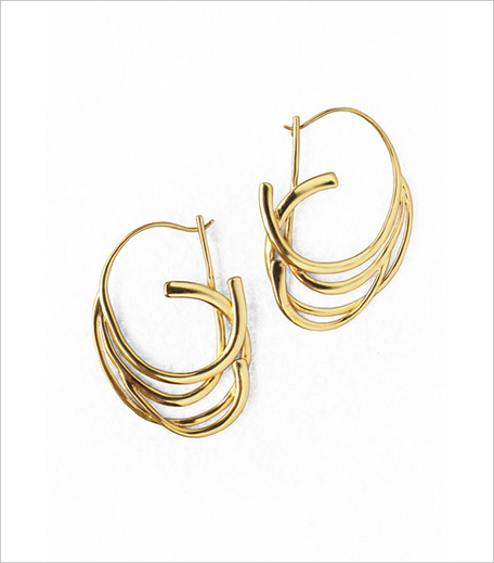Ribbon Hoop Earrings_Hauterfly