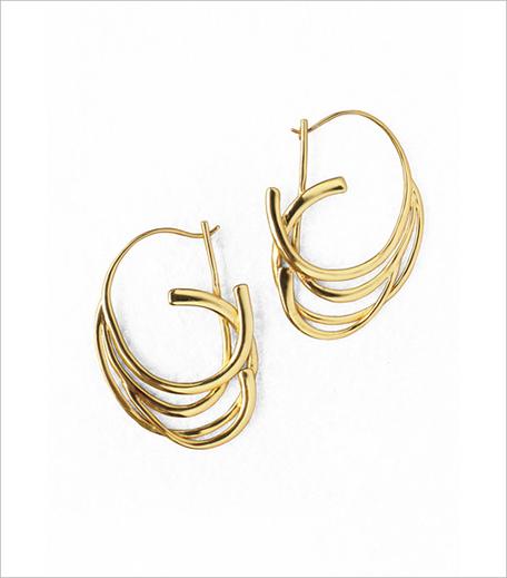 Ribbon Hoop Earrings_Hauterfly