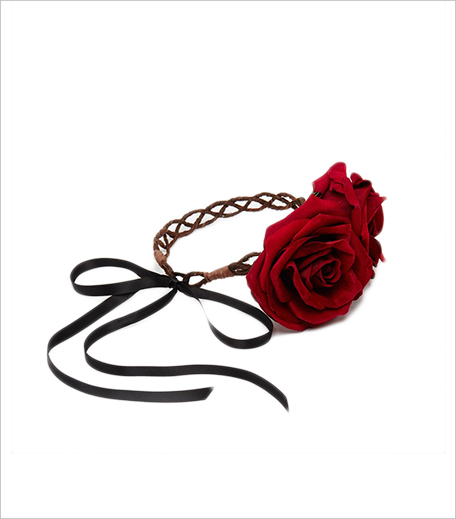 Rock 'N Rose Halloween Grace Rose Crown Headband_Hauterfly