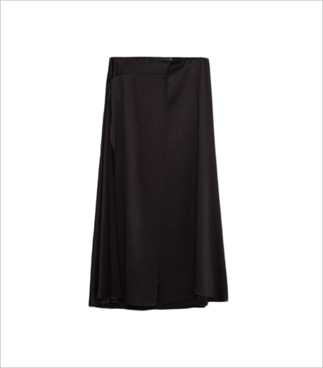 Zara LONG STUDIO SKIRT WITH SLITS_Hauterfly