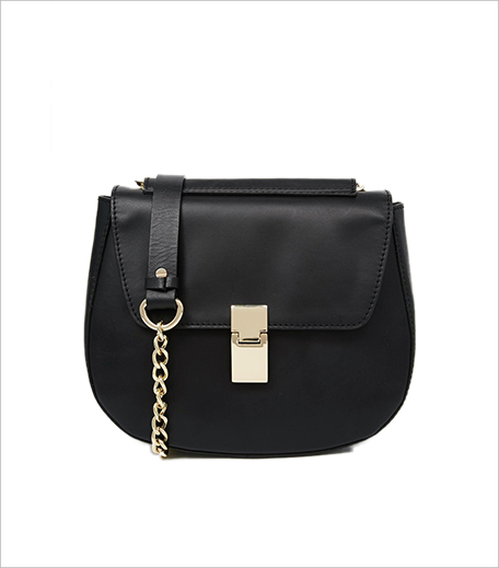 ASOS Leather Structured Saddle Bag With Chain Handle 2_Hauterfly