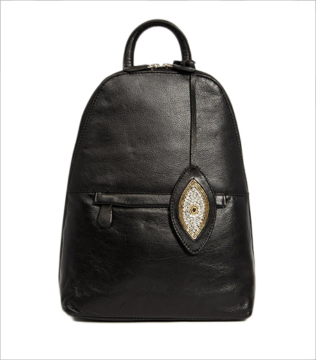 ASOS Sunita Mukhi Backpack With Evil Eye Tag 1_Hauterfly