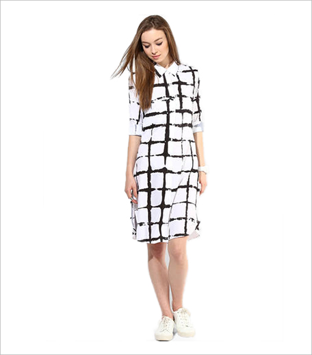 Alia Bhatt For Jabong white printed shirt dress_Shirt Dress Hauterfly