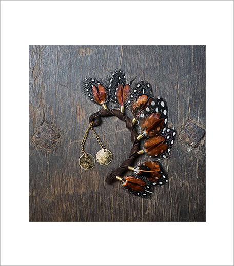 Anarae BROWN PHEASANT EAR CUFF_Hauterfly