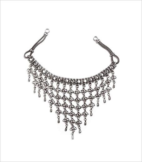 Anarae Bhari Silver Neckpiece_hauterfly