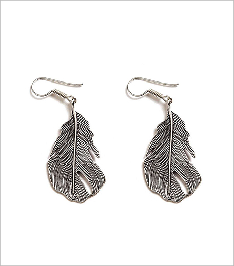 Anarae PAṄKHA FEATHER EARRINGS_Hauterfly